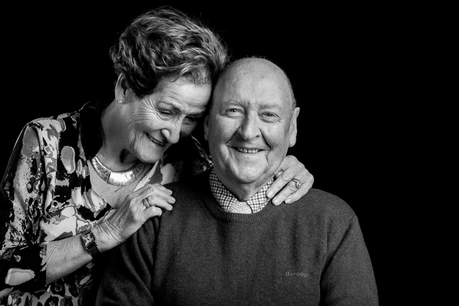 Grandparents informal portrait