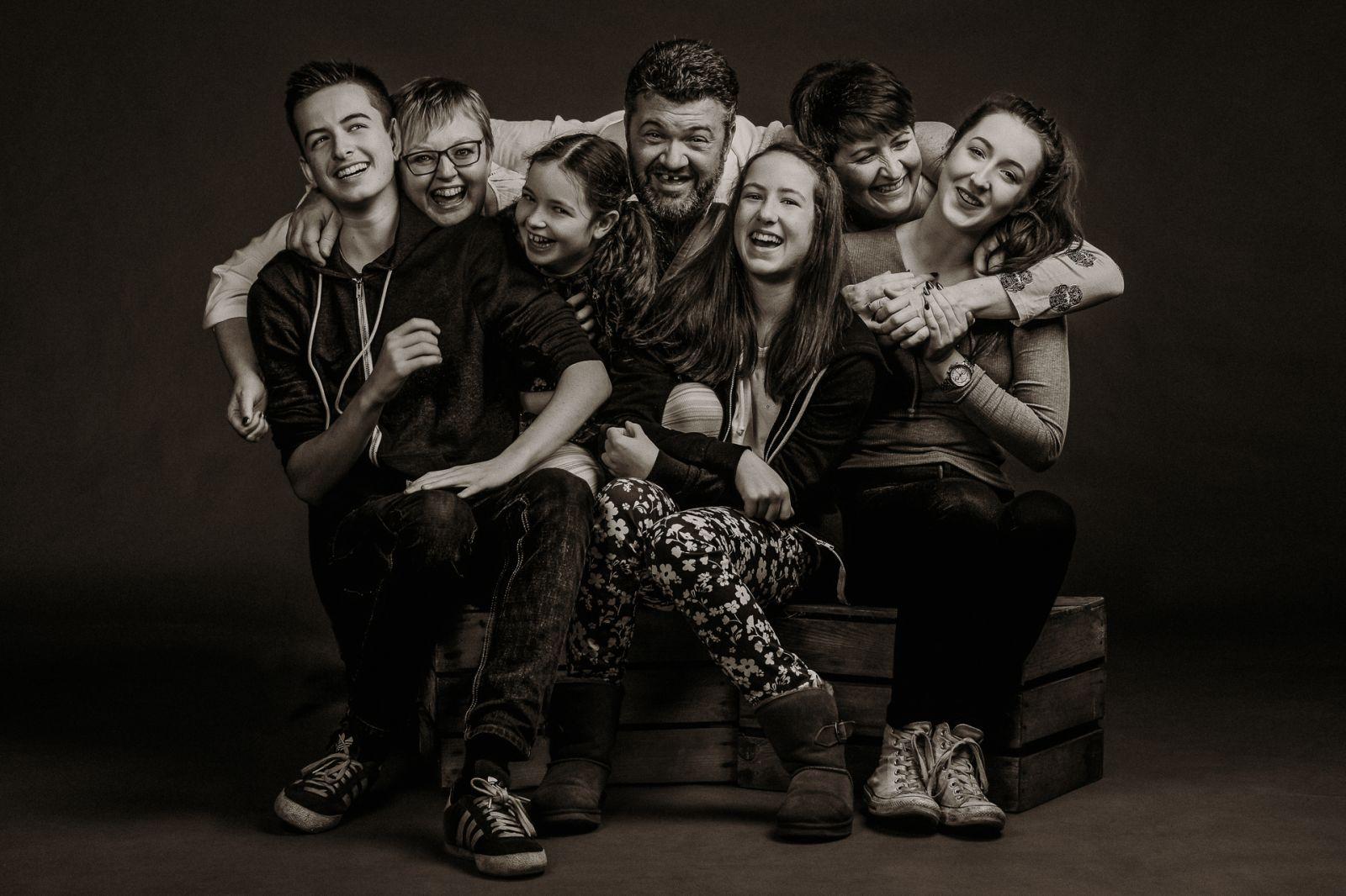 Lively Family Portrait